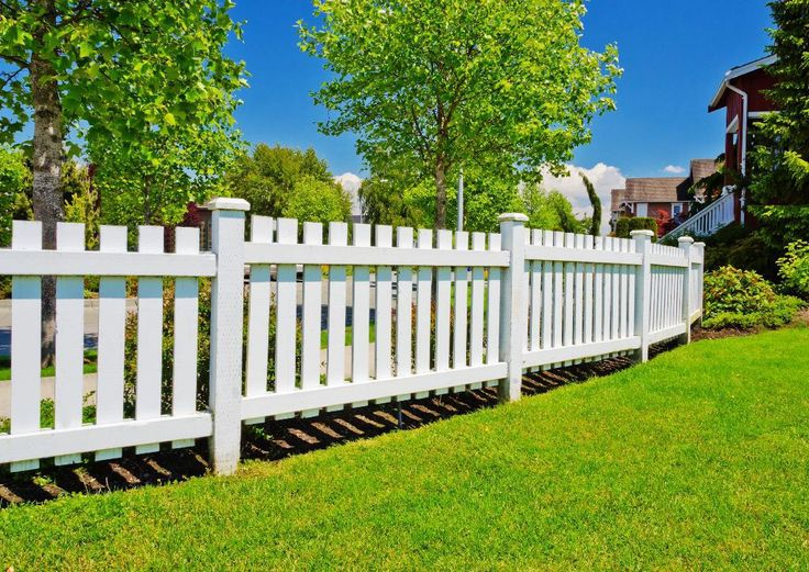 106 Best Images About PVC Fence For Garden On Pinterest Fencing