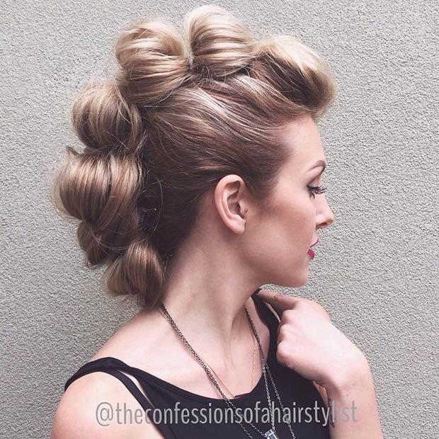25 Best Ideas About Long Hair Mohawk On Pinterest Mohawk