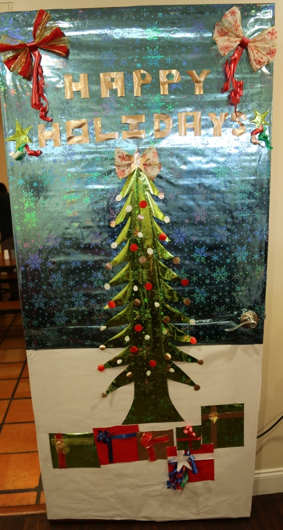16 Best Images About Holiday Door Decoration Contest 2012