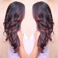 Best 20+ Burgundy Hair Highlights ideas on Pinterest ...