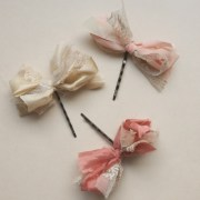 emma cassi hair bow vintage tulle