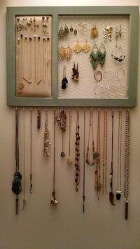 Top 25+ best Diy jewelry organizer ideas on Pinterest ...