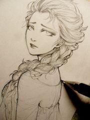 beautiful anime drawings character