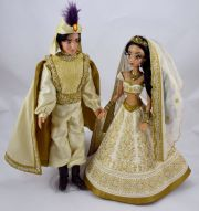 limited edition aladdin and jasmine