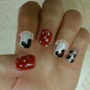 disney nails. minnie mouse mickey
