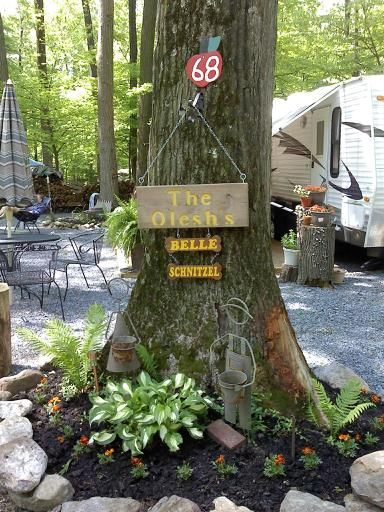 25 best ideas about Campsite Decorating on Pinterest  Glamping Airstream campers and Wood walkway