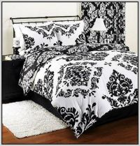 Black And White Damask Bedding Queen   Kids bedroom ideas ...