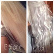 silver grey hair wella t18