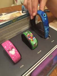 Decorated magic bands for disney :) | DIY ideas ...