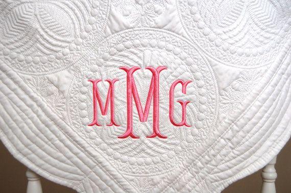 best 25 monogrammed baby blankets ideas on pinterest
