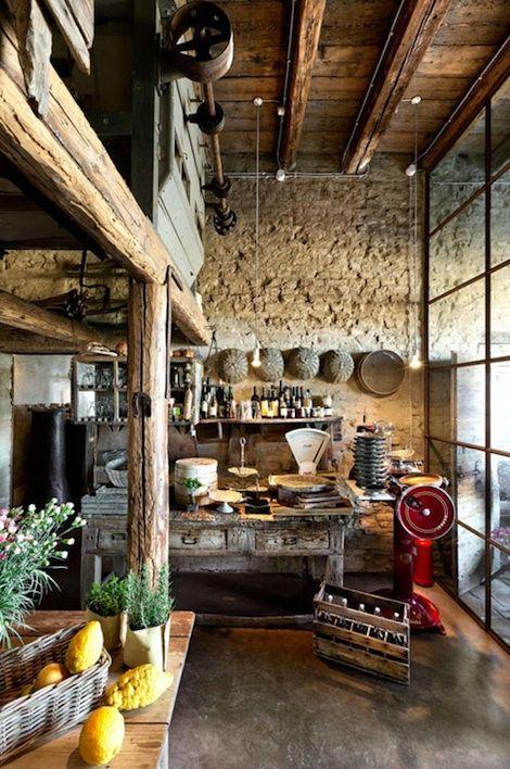 81 Best Images About LA CUCINA ITALIANA Italian Kitchen On Pinterest Umbria Italy Pot Racks