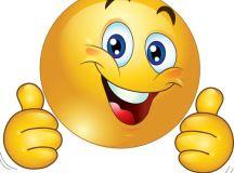 emoticon happy png | Two Thumbs Up Happy Smiley Emoticon ...
