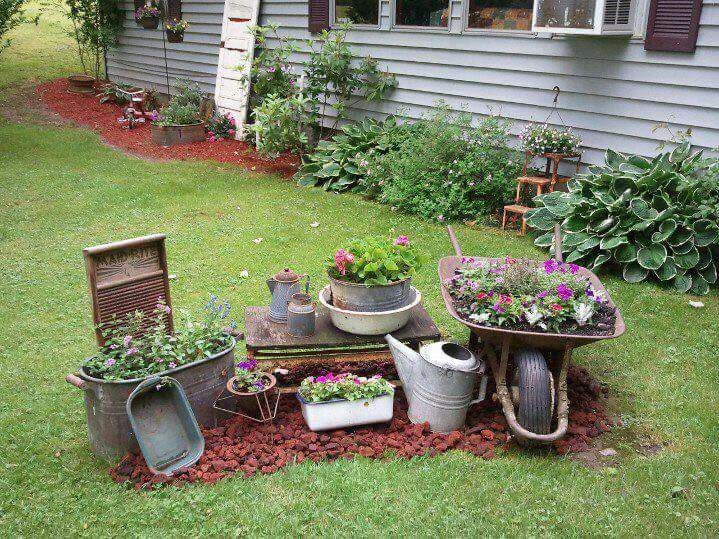 25 Best Ideas About Rustic Landscaping On Pinterest Rustic