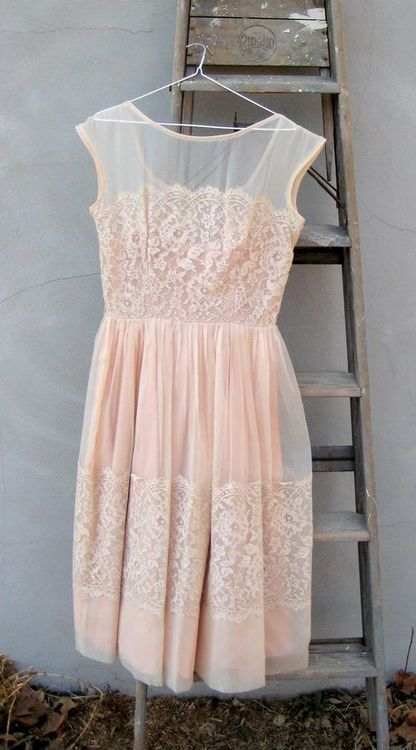 pink lace dress. perfect for rehearsal. Don't want to quite wear white so this l