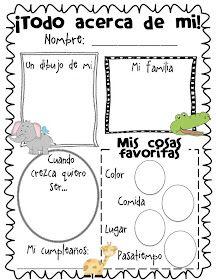 17 Best images about Kindergarten en Espanol on Pinterest