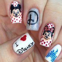 Disney nail designs | nail'd it | Pinterest | Nail art ...