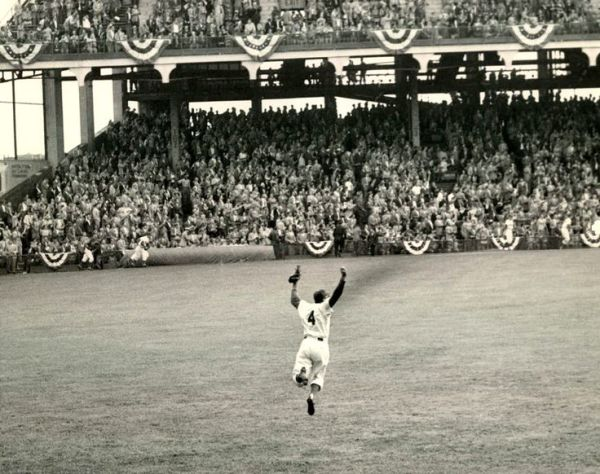 Duke Snider Brooklyn Dodgers 1955 World Series My