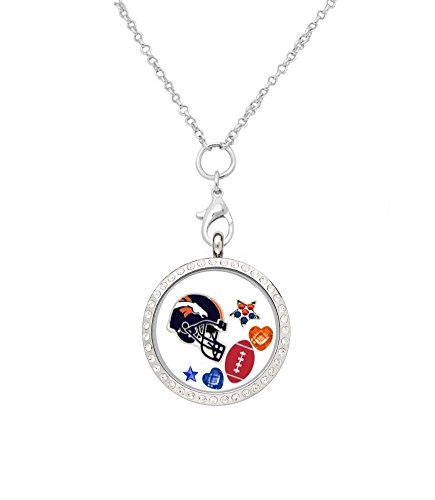 Denver Broncos Floating Locket on 32