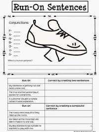 Correcting Sentence Fragments And Run Ons Worksheet 4th ...
