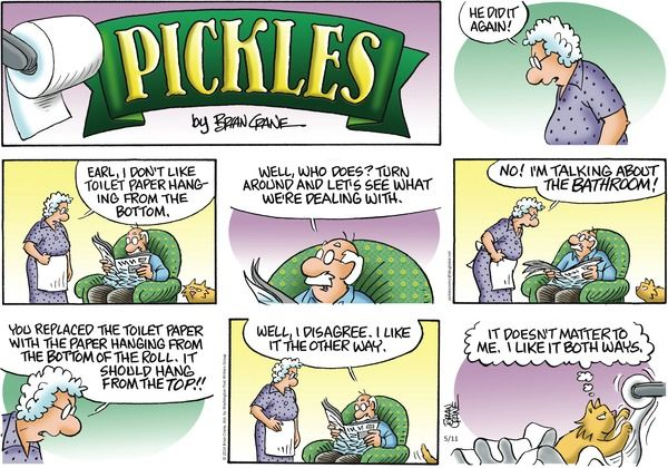 Pickles Comic Strip on GoComicscom  Aging Humor Quotes