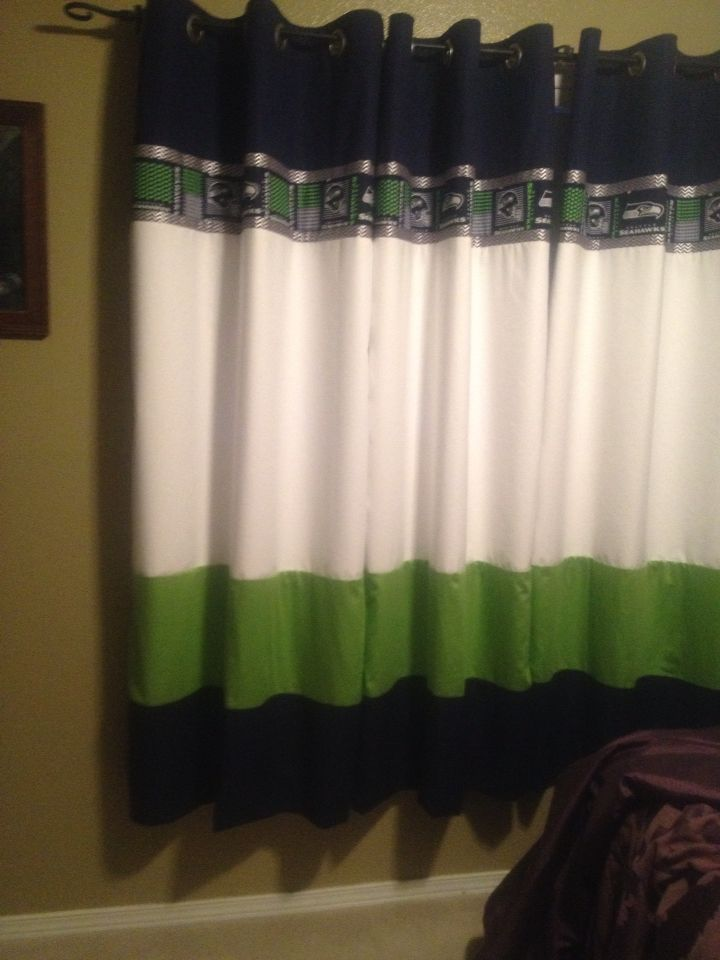 25 best images about Seahawk Bedroom on Pinterest  Fabric