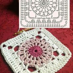 Crochet Square Motif Diagram Pattern Wiring For 7 Pin Plug Squares Love!: A Collection Of Ideas To Try About Diy And Crafts   Free Pattern, Flower ...
