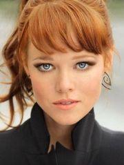 ginger hair la model agency aston
