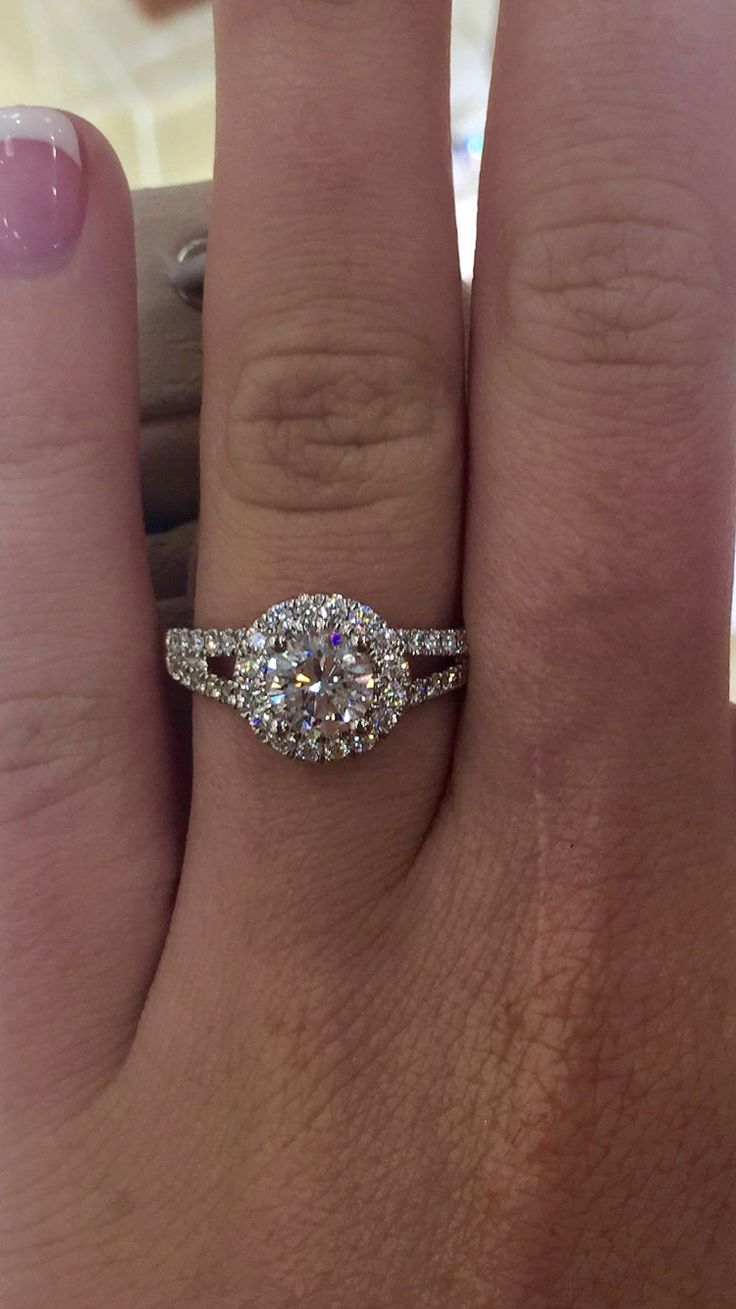 25 best ideas about Halo Engagement on Pinterest  Round halo engagement rings Dream
