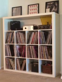 Ikea Expedit Record Storage Hack | Around the House ...