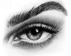 easy eyes pencil drawings eye draw learn steps