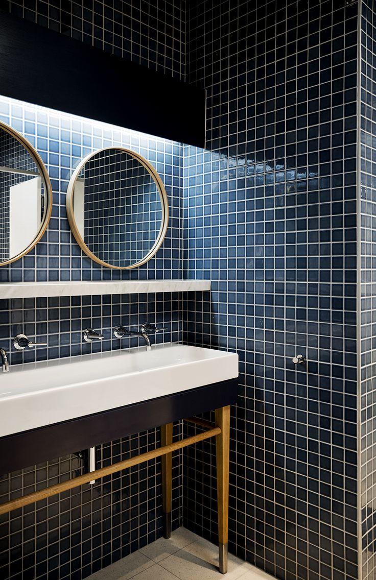 Best 25 Dark Blue Bathrooms Ideas Only On Pinterest