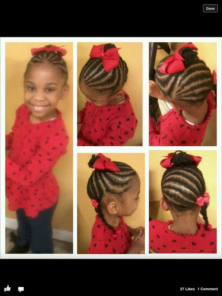 Cute Braided Style For Little Girls Natural Hair Styles