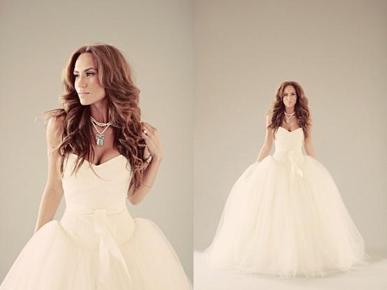 Convertible Wedding Dress ♥ Removable Skirt