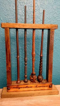 Magic wand, Potter wand Display, Magic Wand Holder, Holds