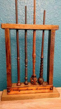 Magic wand, Potter wand Display, Magic Wand Holder, Holds ...