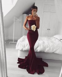 25+ best ideas about Maroon prom dress on Pinterest ...