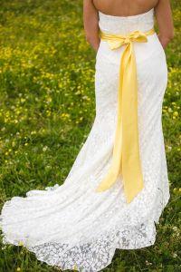 17 Best ideas about Yellow Wedding Dresses on Pinterest ...