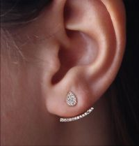 17 Best ideas about Front Back Earrings on Pinterest | Ear ...
