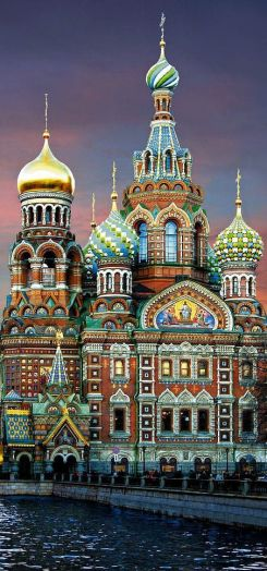 church of our savior in st. petersburg, russia