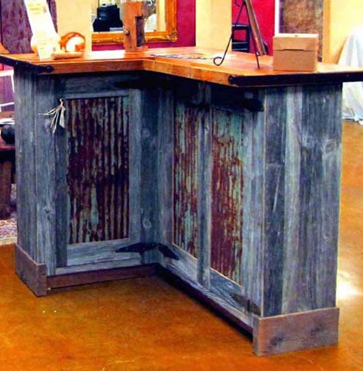64 best images about barnwood bar on Pinterest  Reclaimed