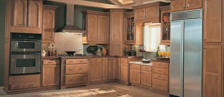 Shenandoah Cabinets  Dominion  Kitchen remodel