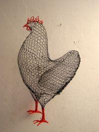 25+ best ideas about Chicken wire art on Pinterest ...