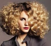 big curly hair. love combo