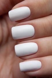 white acrylic nails ideas