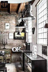 Brick walls / industrial chic / home decor / home design ...