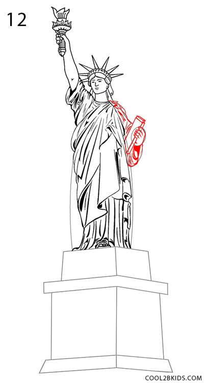 Best 25+ Statue of liberty drawing ideas on Pinterest