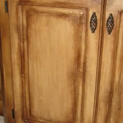 Diy Refinish Kitchen Cabinets Coastal Table Distress/crackle Finish... Cabinet ...