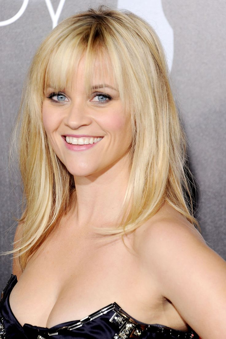 33 Most Stylish MidLength Haircuts  The ojays Reese witherspoon and Medium length haircuts