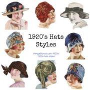 ideas 1920s hats