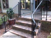 Custom Wrought Iron Residential Railings - Raleigh Wrought ...
